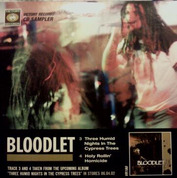 BLOODLET - Victory Records Sampler cover