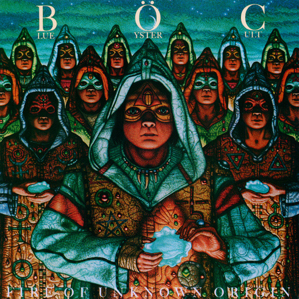 BLUE ÖYSTER CULT - Fire Of Unknown Origin cover