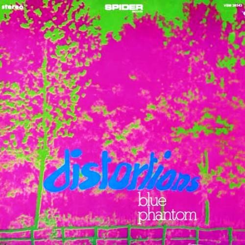 BLUE PHANTOM - Distortions cover