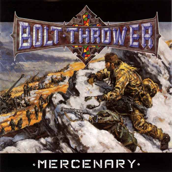 BOLT THROWER - Mercenary cover