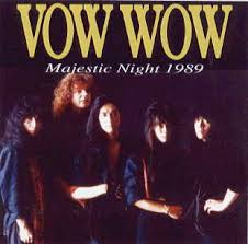 BOW WOW - Majestic Night 1989 cover