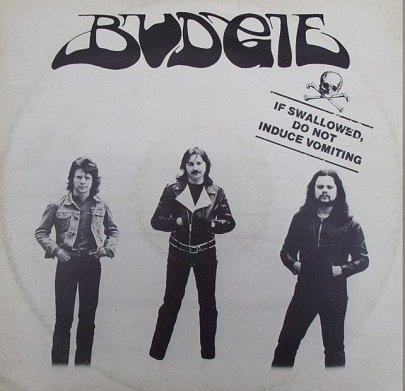 BUDGIE - If Swallowed, Do Not Induce Vomiting cover