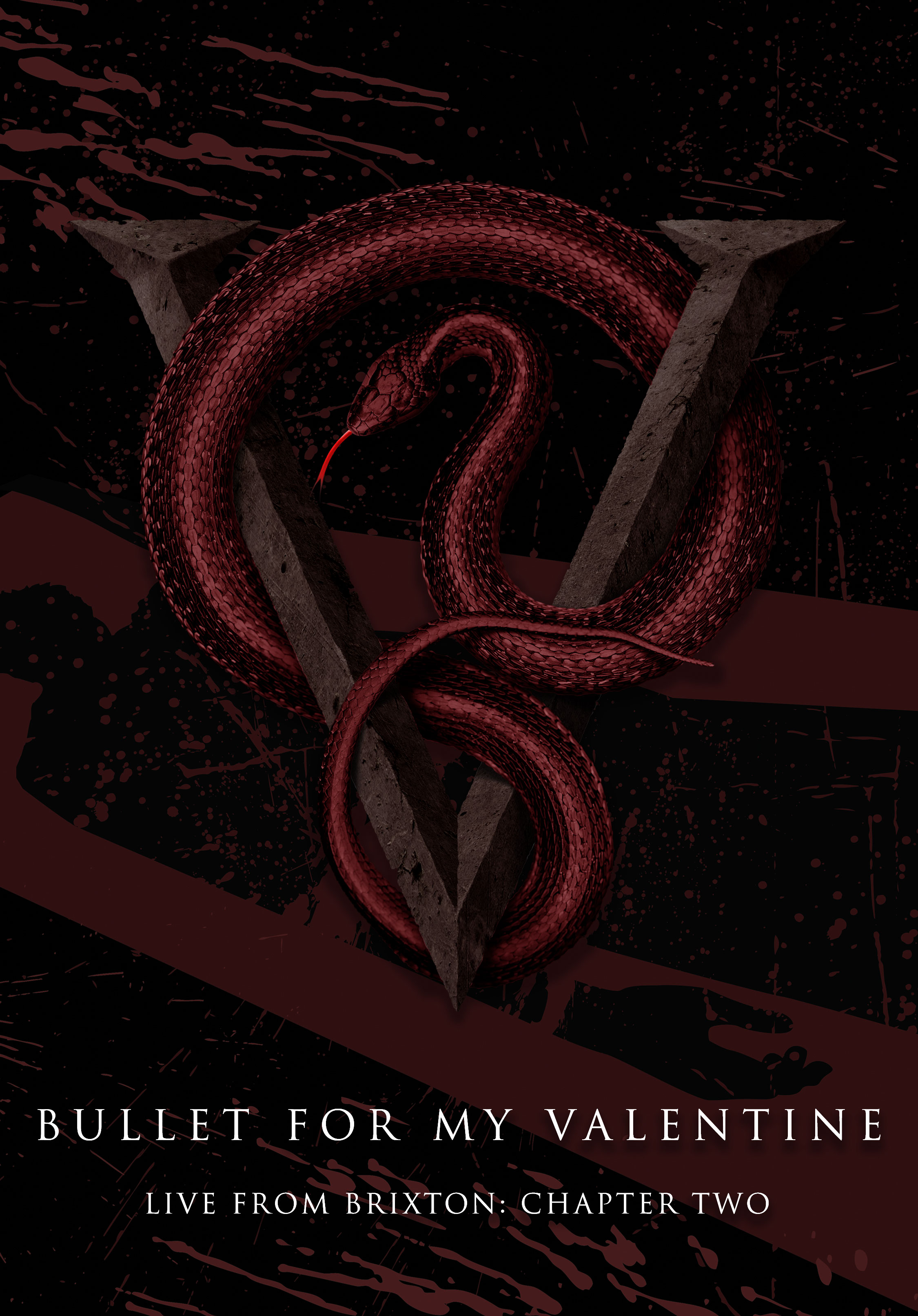 dvd bullet for my valentine live in brixton