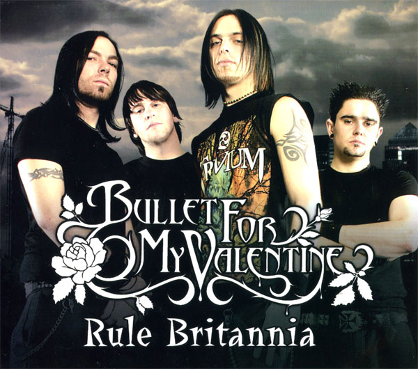 BULLET FOR MY VALENTINE   Rule Britannia Cover