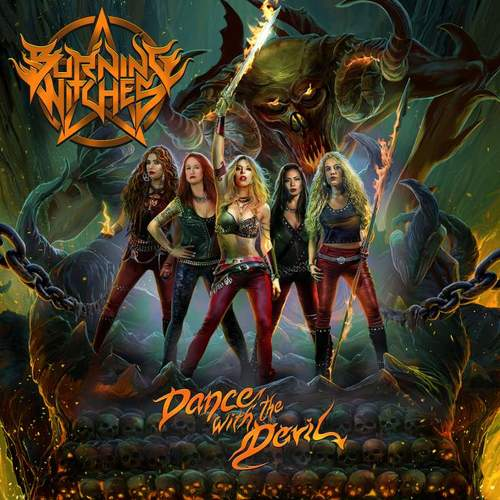 BURNING WITCHES - Dance with the Devil cover