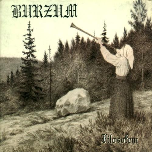 BURZUM - Filosofem cover