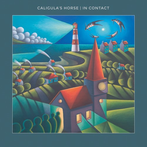 CALIGULA'S HORSE - In Contact cover