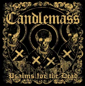 CANDLEMASS - Psalms for the Dead cover 
