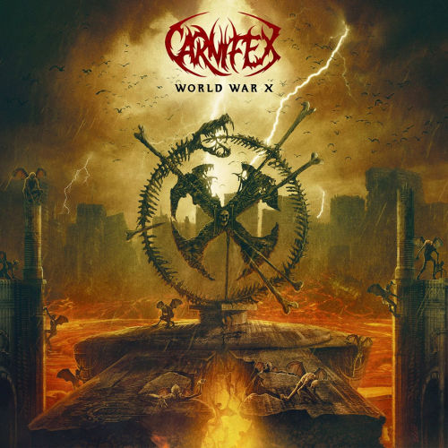 CARNIFEX - World War X cover