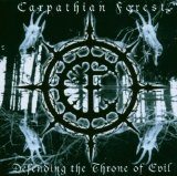 CARPATHIAN FOREST - Defending the Throne of Evil cover