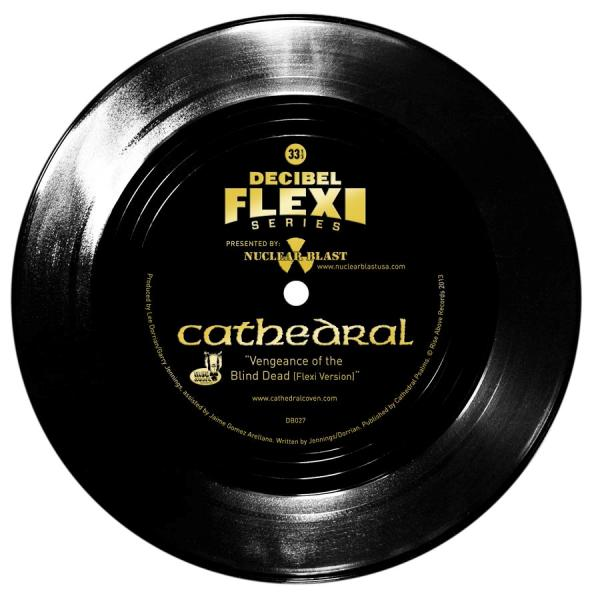 CATHEDRAL - Vengeance of the Blind Dead (Flexi Version) cover