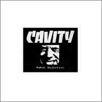 CAVITY - Human Abjection cover