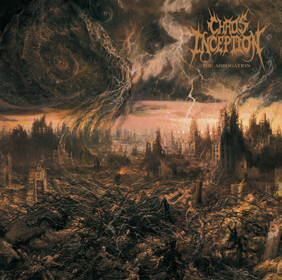 CHAOS INCEPTION - The Abrogation cover