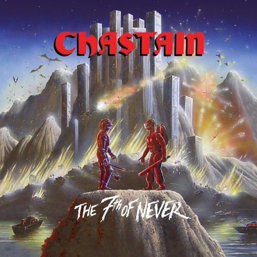 CHASTAIN - The 7th of Never cover