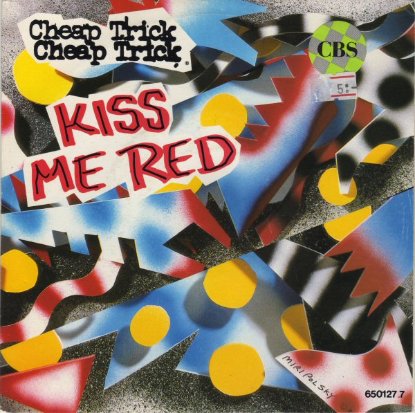 CHEAP TRICK - Kiss Me Red cover