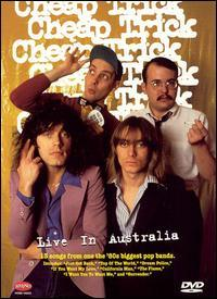 CHEAP TRICK - Live In Australia cover