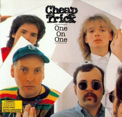 CHEAP TRICK - One On One cover