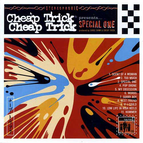 CHEAP TRICK - Special One cover