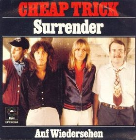CHEAP TRICK - Surrender cover