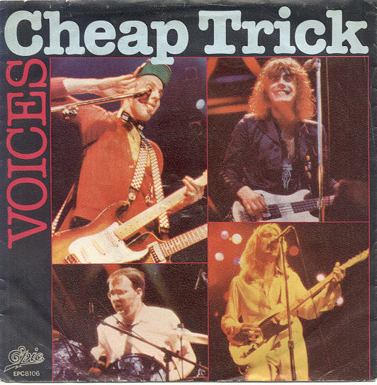 CHEAP TRICK - Voices cover