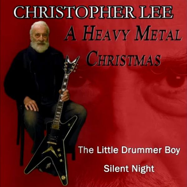 christopher lee a heavy metal christmas cover - Christopher Lee Metal Christmas