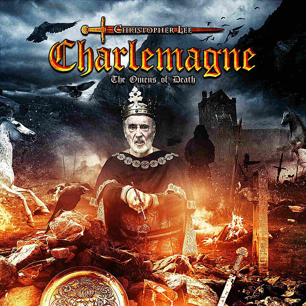 CHRISTOPHER LEE - Charlemagne: The Omens of Death cover