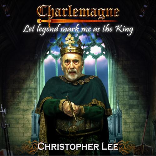 CHRISTOPHER LEE - Let Legend Mark Me As the King cover