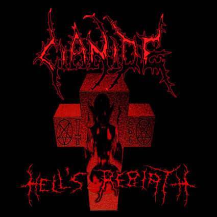 CIANIDE - Hell's Rebirth cover
