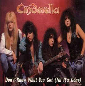CINDERELLA - Don't Know What You Got (Till It's Gone) cover