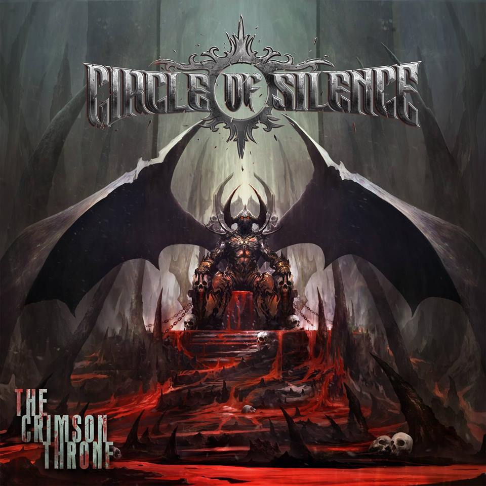 CIRCLE OF SILENCE - The Crimson Throne cover
