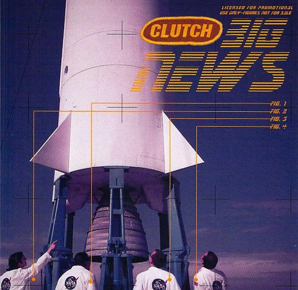 CLUTCH - Big News cover