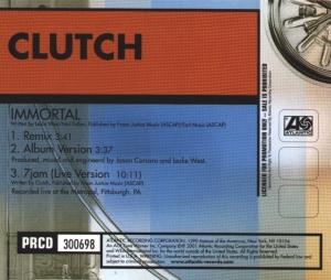 CLUTCH - Immortal cover