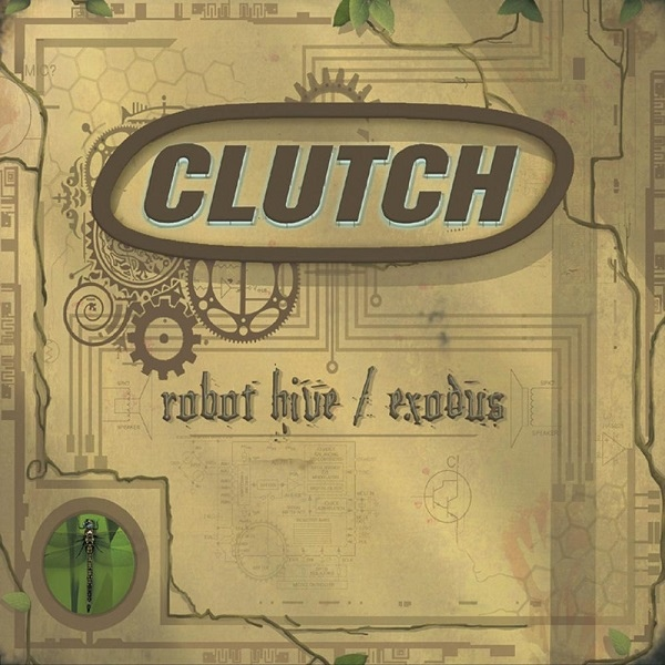 CLUTCH - Robot Hive / Exodus cover