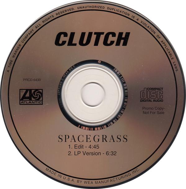 CLUTCH - Spacegrass cover