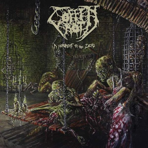 COFFIN ROT - A Monument To The Dead cover