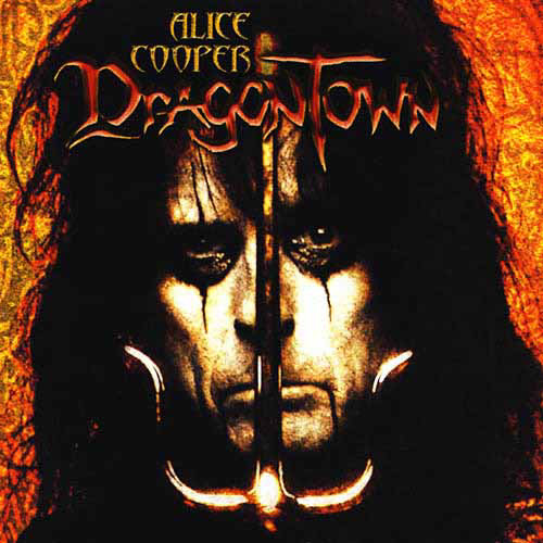 ALICE COOPER - Dragontown cover