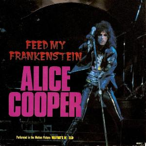 ALICE COOPER - Feed My Frankenstein cover