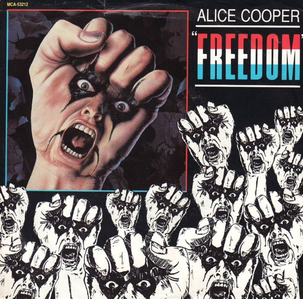 ALICE COOPER - Freedom cover