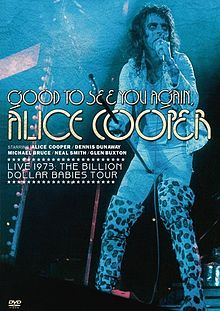 ALICE COOPER - Good To See You Again, Alice Cooper cover
