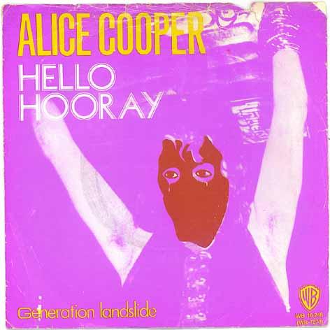 ALICE COOPER - Hello Hooray cover