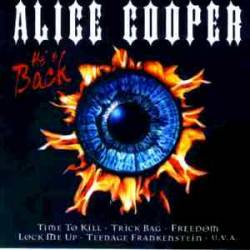 ALICE COOPER - He's Back cover
