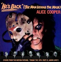 ALICE COOPER - He's Back (The Man Behind The Mask) cover