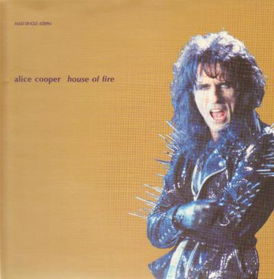 ALICE COOPER - House Of Fire cover