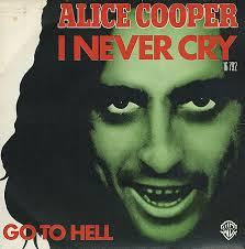 ALICE COOPER - I Never Cry cover