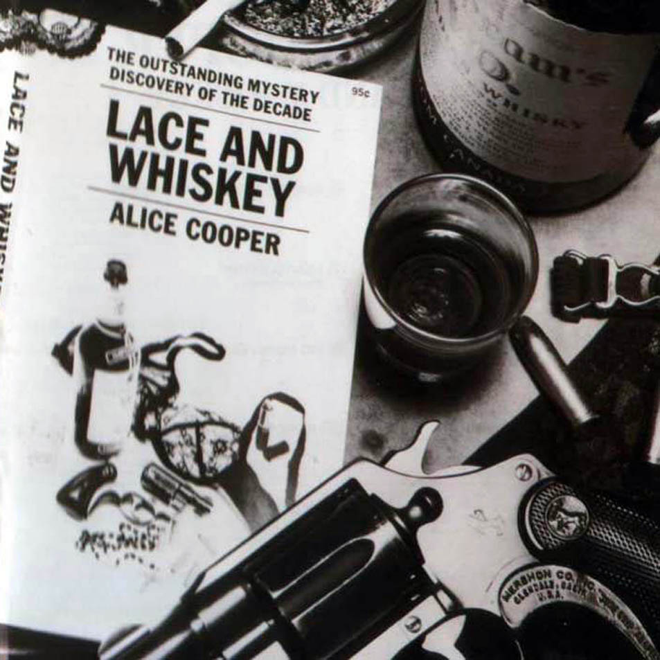 ALICE COOPER - Lace And Whiskey cover