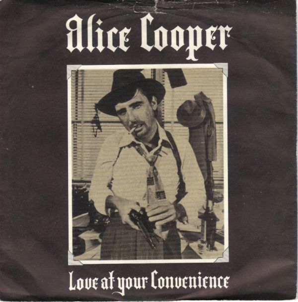 ALICE COOPER - (No More) Love At Your Convenience cover
