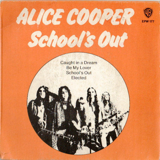ALICE COOPER - School's Out (1977) cover