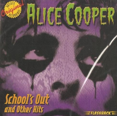 ALICE COOPER - School's Out And Other Hits cover