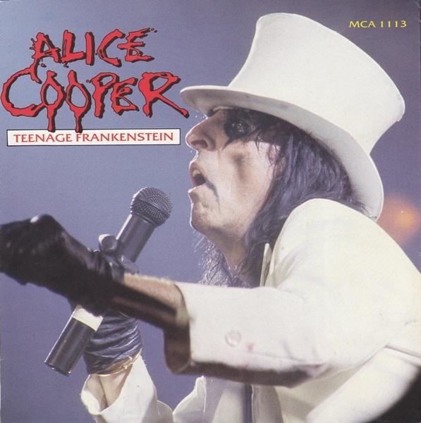 ALICE COOPER - Teenage Frankenstein cover