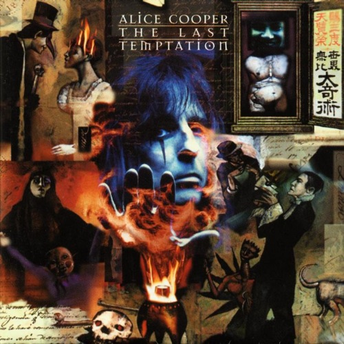 ALICE COOPER - The Last Temptation cover